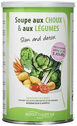 avis proteine au monde professionnel Institut Claude Bell Traitement Minceur / Soupe Détox Chou 250g