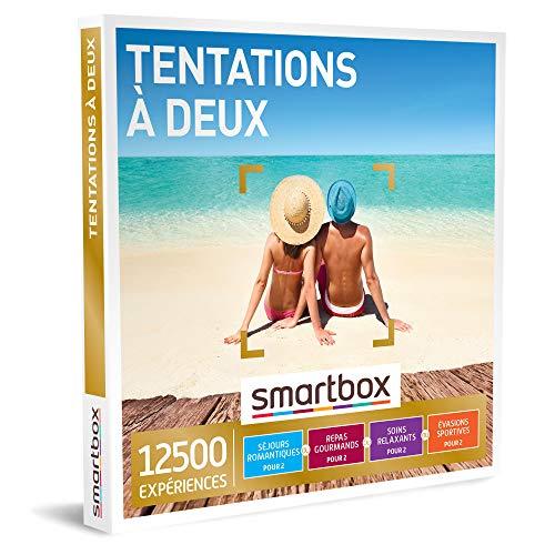 SMARTBOX - Coffret Cadeau Couple - Idée cadeau original : Choisissez parmi 12 500 activités et séjours pour une escapade à deux