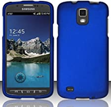 Importer520 Rubberized Snap-On Hard Skin Case Cover for Samsung Galaxy S4 S 4 Active i537 i9295 Blue