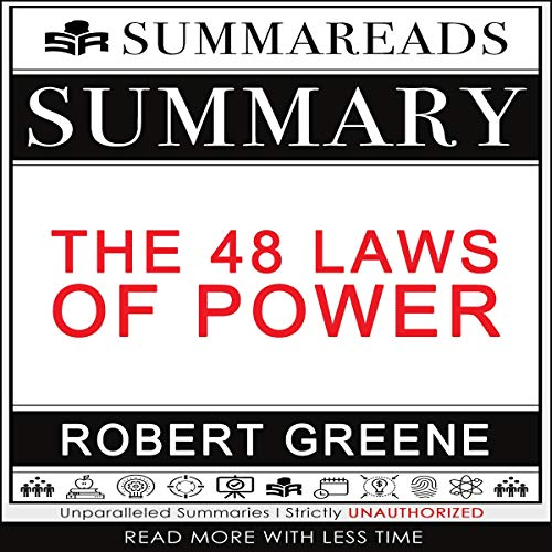 Summary of The 48 Laws of Power by Robert Greene cover art