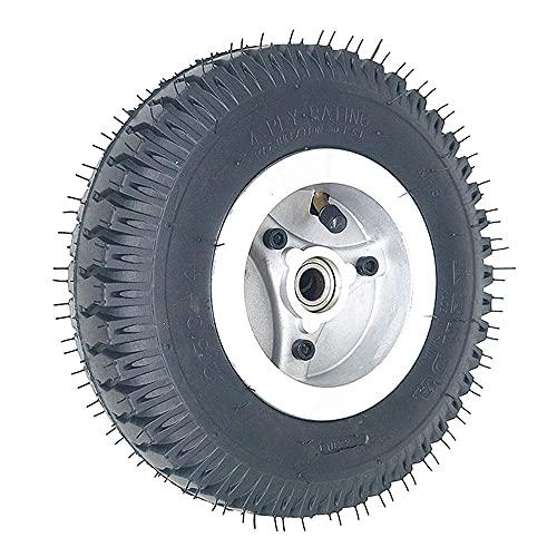HTZ-M Neumáticos para Scooter eléctrico, 2,50-4 neumáticos Antideslizantes y Resistentes al Desgaste, adecuados para Scooter para Ancianos de 8 Pulgadas/Accesorios para vehículos eléctricos de 3 rued