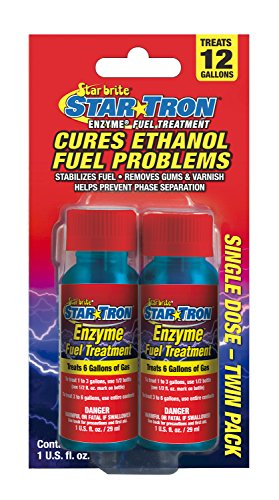 Star Tron Enzyme Fuel Treatment - Gas Formula - Shooter 2 Pack