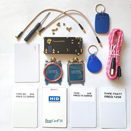 JCXSETCTOP Proxmark3 RDV2 - Kit de escáner para Impresora de radiofrecuencia y fotocopiadora UID T5577 NFC Proxmark 3 Clone Crack