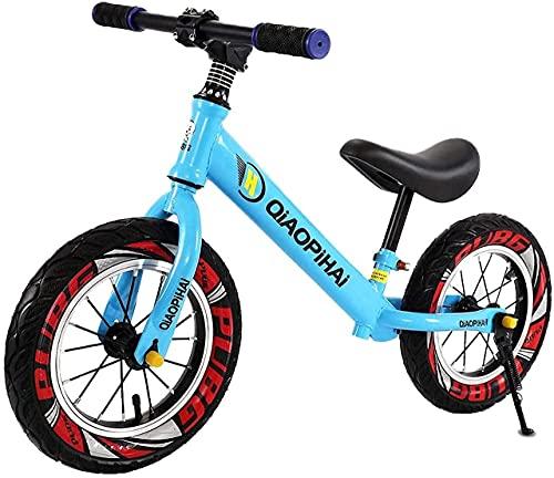 DRAGDS Bicicleta de Equilibrio, Bicicleta de Equilibrio para Niños Bicicleta de Balance de Bicicletas de 2 a 6 Años Bicicleta de Balance de Balance de 12 Pulgadas Bike Bike Sport con M de Acero, Asie