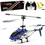 Product Image of the Cheerwing S107/S107G Phantom 3CH 3.5 Channel Mini RC Helicopter with Gyro Blue