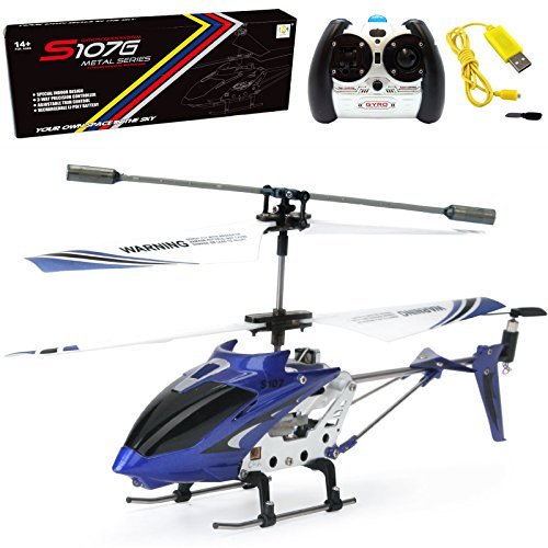 Syma S107 Helicopter with Gyro-Red