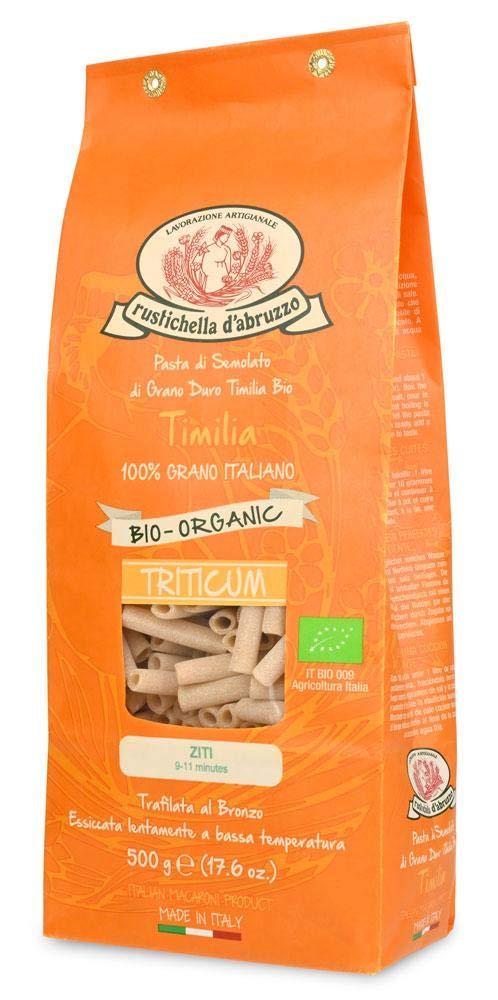 Organic Timilia Ziti Pasta by 2 PACK Limited time trial price Max 90% OFF Rustichella d'Abruzzo