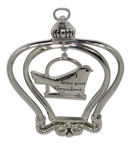 Ganz I Love You Grandma - Birdcage Ornament
