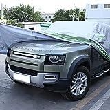 Cubierta de coche impermeable todo clima para automóviles, cubierta completa al aire libre lluvia sol protección UV para Land Rover Defender 90 110 2020 2021