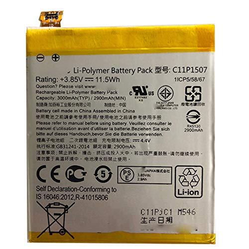 電池ASUS携带バッテリー ASUS ZenFone Zoom ZX551/ML ZX550 Z00XSB C11P1507 交換用のバッテリー 電池互換 11.5Wh 3.85V