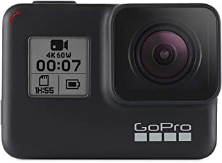 GoPro HERO7 Black — Waterproof Digital Action Camera with Touch Screen 4K HD Video 12MP Photos Live Streaming Stabilizatio...