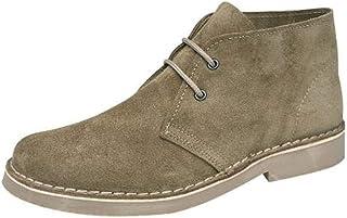 Roamers Classic Suede Desert Boots