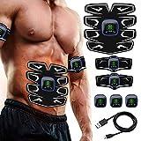 A-TION Electrostimulateur Musculaire Entraînement pour Abdomen/Bras/Jambe,...