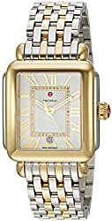 top rated Stainless Steel Women's Casual Swiss Quartz Watch MICHELE Eco Madison, Color: Two Tone Color (Model:… 2021