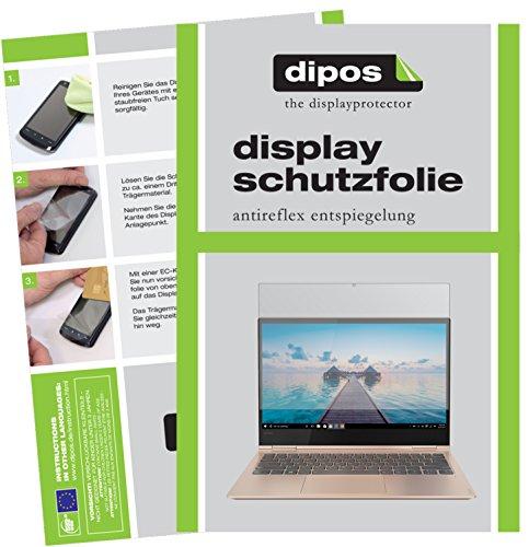 dipos I 2X Schutzfolie matt kompatibel mit Lenovo Yoga 730-15IKB (15.6 Zoll) Folie Bildschirmschutzfolie
