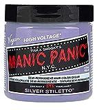 Manic Panic Silver Stiletto Hair Toner - Classic High Voltage - Semi-Permanent Hair Color