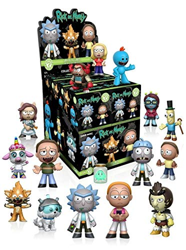 Rick and Morty Series 1 Mystery Minis Set of 12
