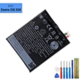 Li-Polymer Replacement Battery B2PST100 Compatible with HTC Desire 530 628 630 650 with Tools