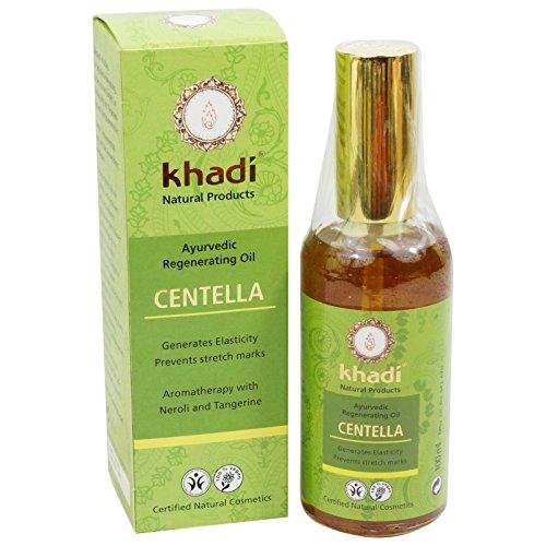 Khadi - Huile Corps Centella Prévention Vergetures Tonifiante Rivitalisante - 100 ml
