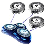HQ8 Replacement Heads for Philips Norelco Shavers, OEM HQ8 Heads New Upgraded