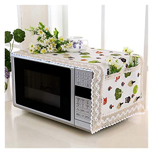 JINAN 1 housse de protection pour four à micro-ondes avec sac de rangement - Accessoires de cuisine - Décoration d'intérieur (couleur : 469897)