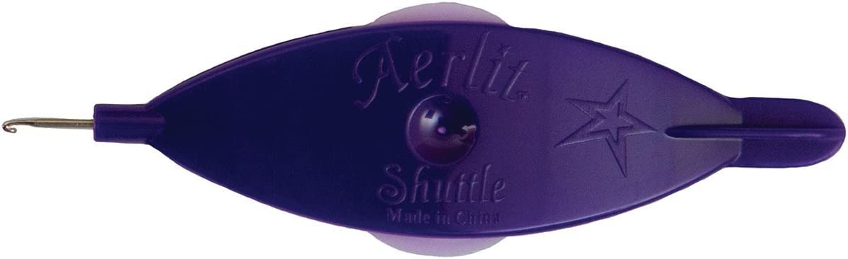 Handy Hands Aerlit Tatting Shuttle bobbins with Cheap super special wholesale price Purple 2 SHH432