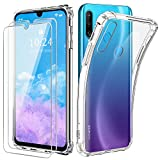 Reshias Cover per Huawei Honor 20E, Morbido Trasparente TPU Silicone Anti-Caduta Protettiva...