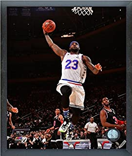 LeBron James Cleveland Cavaliers 2015 NBA All Star Game Action Photo (Size: 12