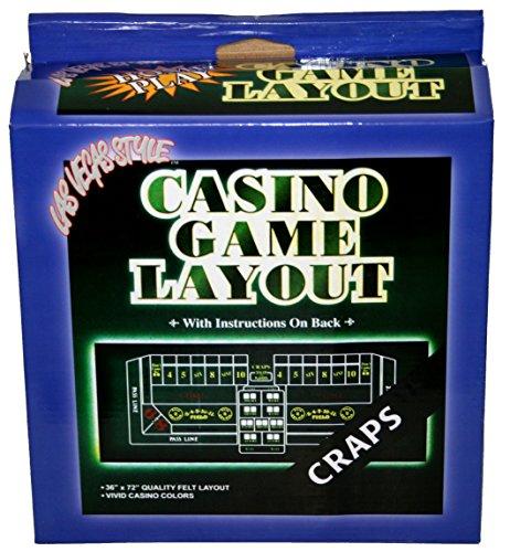 Las Vegas Style Craps Layout