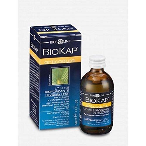 Bios Line 22254 Biokap Lozione Rinfororzante Anticaduta, 50 ml