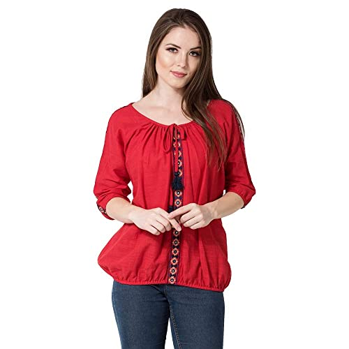 63572534b3640a Women's Shirts for Jeans: Buy Women's Shirts for Jeans Online at ...