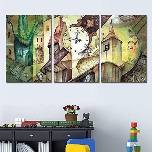 LLWYH Poster Sticker De Porte 3D Vert For/êt Animal Salon Chambre PVC Auto-Adh/ésif /Étanche Cr/éatif Bricolage Autocollant Mural Art Home D/écoration