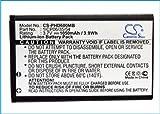 CS-PHD600MB Batterie 1050mAh Compatible avec [Philips] Avent SCD600, Avent SCD600/00, Avent SCD600/10, Avent SCD610, [TOPCOM]...
