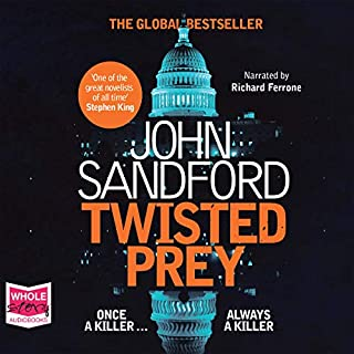 Twisted Prey                   By:                                                                                                                                 John Sandford                               Narrated by:                                                                                                                                 Richard Ferrone                      Length: 11 hrs and 29 mins     8 ratings     Overall 4.9