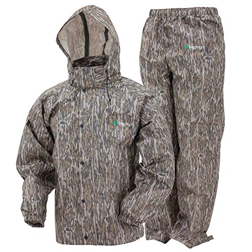 FROGG TOGGS Men's Classic All-Sport Waterproof Breathable Rain Suit, Realtree Xtra, Large