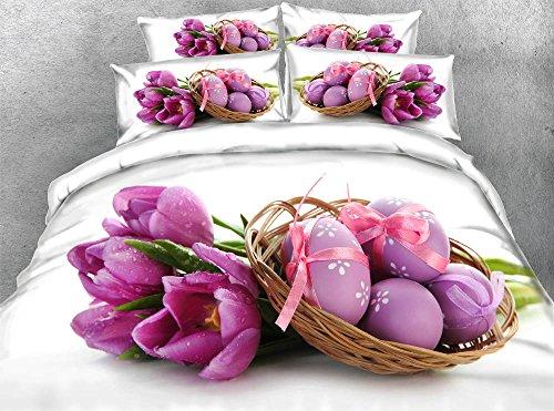 3D Easter Eggs Bedding Set Duvet Cover