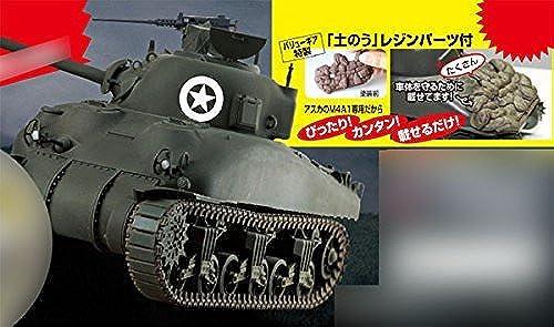 [Privilege] 1 35 amerikanische Medium Tank M4A1 Sherman (Mitte) aus Kunststoff