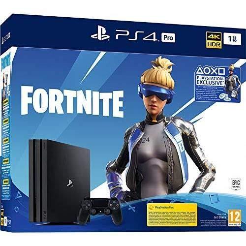 Playstation 4 Console - 1TB Pro (Fortnite Neo Versa + 2000 V Bucks Bundle) (EU) (PS4)