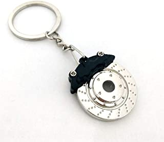 Creative gifts, brake discs, wheel calipers, metal keychains, car modification, disc brakes, waistbands, key rings, chain ...