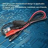 Osciloscopio BNC Plug, BNC a pinza de cocodrilo Cables de prueba Analizador de alcance Pinza de sonda de cocodrilo para laboratorio eléctrico Juego de cables de prueba BNC
