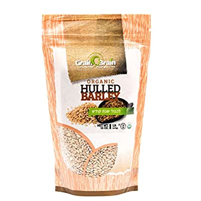 Grain Brain Organic Hulled Barley