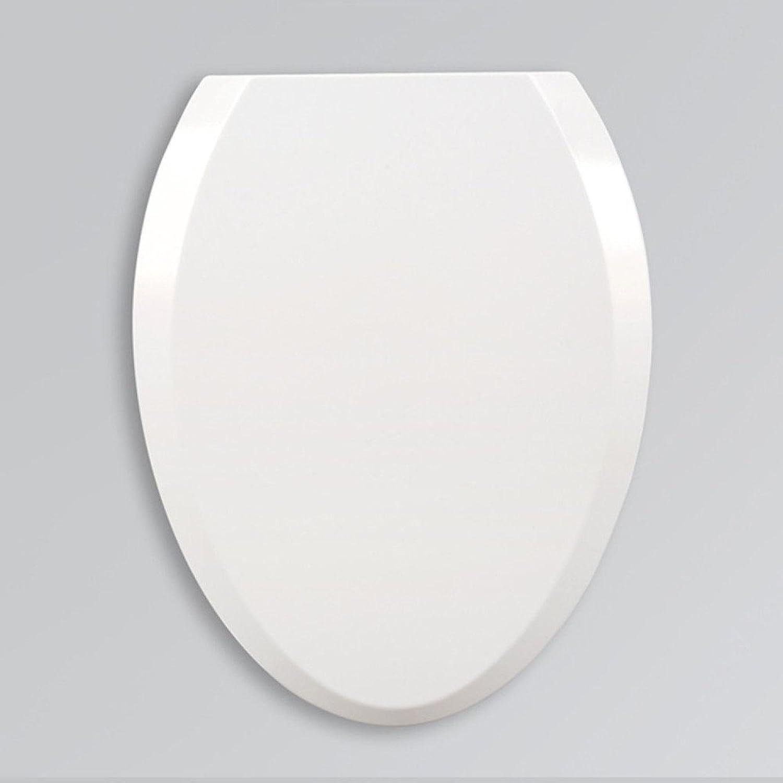 LDFN Universal Toilet Seat Type V Urea Toilet Seat Vintage Slow Down Accessories,White-4636cm