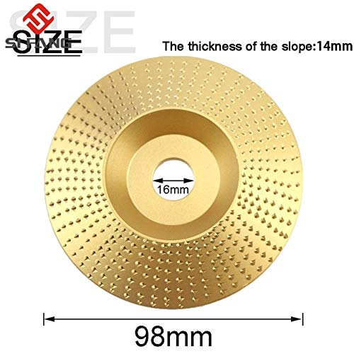 Check Out This Xucus 98mm Steel Wood Angle Grinding Wheel Sanding Angle Grinding Wheel Carving Rotar...