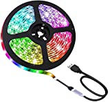 Mehrfarbig RGB 50cm 50cm LED Streifen Licht LED-TV Hintergrund Beleuchtung-Kit With USB Kabel Generisches RU50