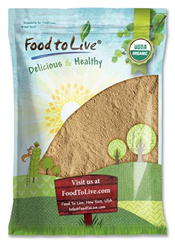 Organic Garlic Powder, 10 Pounds - Non-GMO, Kosher, Raw, Dried, Bulk