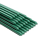 Ativia 6FT 25PCS Garden Stakes Plant Support,...