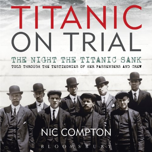 Titanic on Trial audiobook cover art