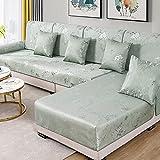 GGFHH Fundas de Sofa Chaise Longue Impermeable, Fundas para Sofa Cubre sofá Protector de sofá o sillón Protector de sofá para Mascotas 290-330cm Sofa