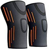 KGONE Knee Support Compression Sleeves for Men and Women (Pair)- Knee Brace for Joint Pain, Arthritis,...
