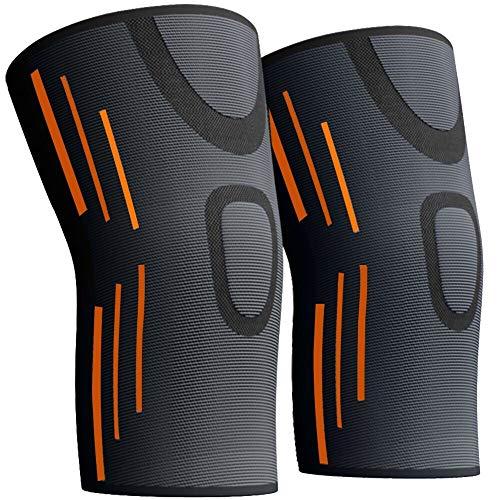 Kniebandage,2StückSportKniestützeperfektfürMeniskusriss,ArthritisSport,DamenundHerren